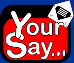 your say logo